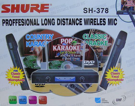 Micro không dây Shure SH378