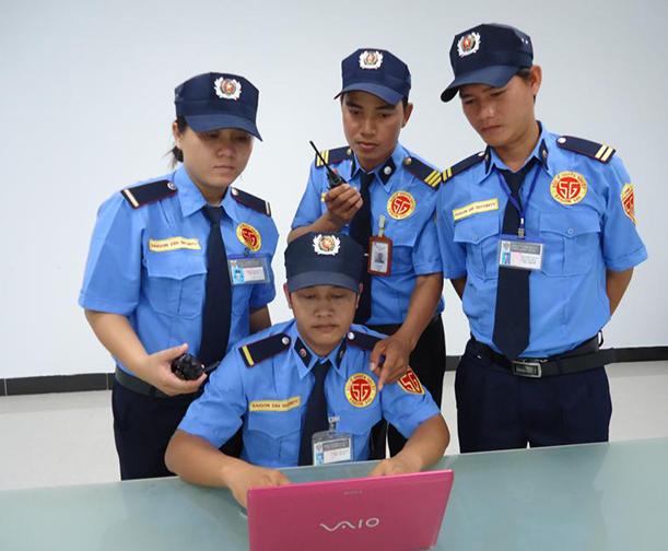 Bộ đàm sử dụng trong bảo vệ