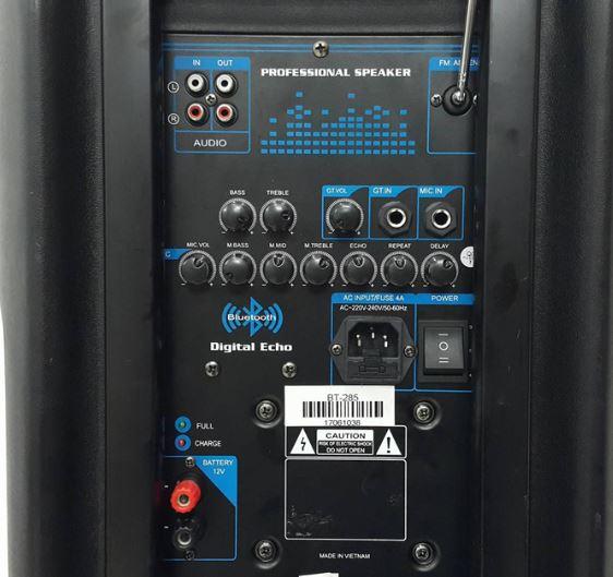 Bảng điều khiển loa kéo Best BT-285